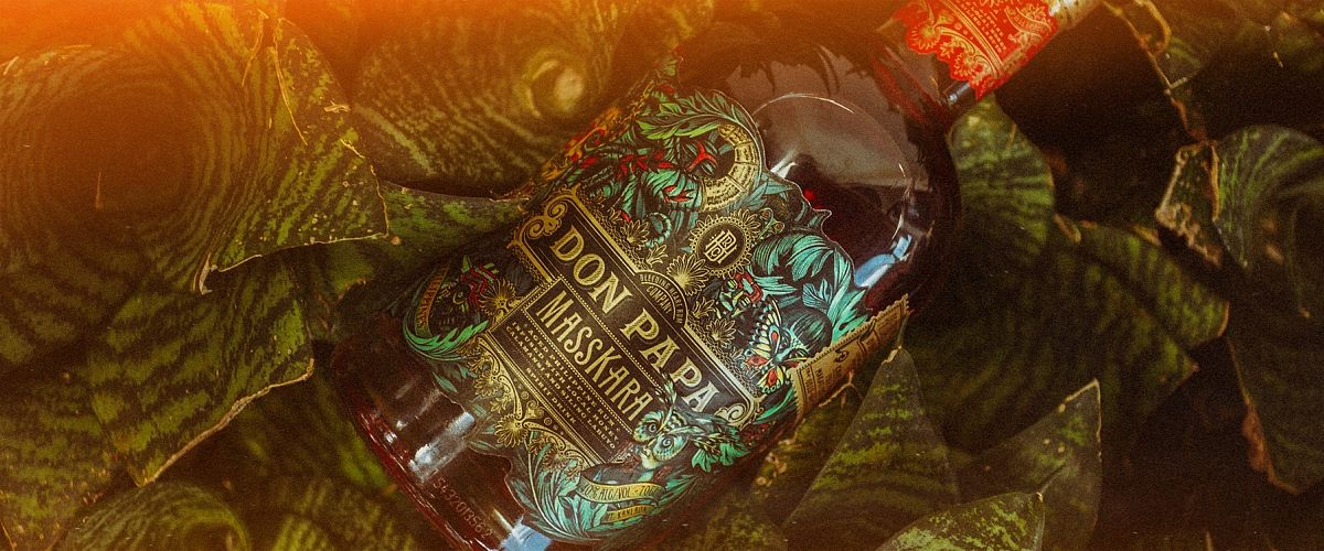 Don Papa Masskara Rum: kleurrijk en festief